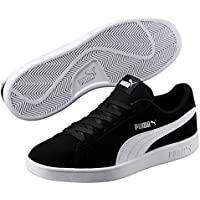 PUMA Men's Puma Smash V2, Black - PUMA White PUMA Sil