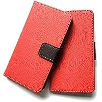 ASUS ZenFone 4 selfie pro ZD552KL 手帳型ケース 手帳型カバー カード入れ2・紙幣入れ1付き 横置きスタンド機能付き マグネット式 スマホケース スマートフォンケース イタリア製合皮使用 ツートンカラー配色が特長のオシャレなスマホケース [全6色]