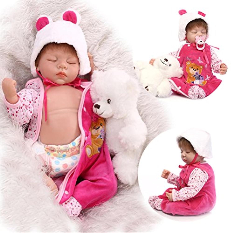 新しい22 'ベビービニールシリコン人形Handmade for children