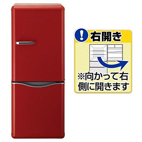 DAEWOO 2ドア冷蔵庫 (150L) DR-C15AR レッド