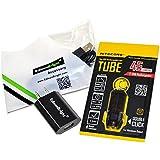 Nitecore Tube 45ルーメンUSB充電式(ブラック)キーチェーンライト、EdisonBright USB充電器とEdisonBright USBケーブルバンドル