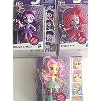 My Little Pony Equestria Girls Minis : Twilight Sparkle , Pinkie Pie and Fluttershy