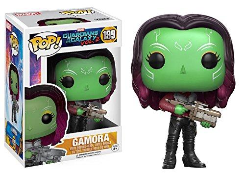 Marvel(マーベル) Guardians of the Galaxy Vol. 2(ガーディアンズ・オブ・ギャラクシー: リミックス) Gamora(ガモーラ) FUNKO/ファンコ POP MARVEL VINYL ボブルヘッド