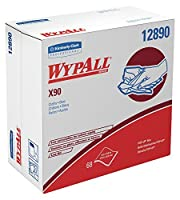 Wypall X90 Extended Use Cloths (12890), Reusable Wipes POP-UP BOX, Blue Denim, 5 Boxes/Case, 68 Sheets/Box, 340 Sheets/Case [並行輸入品]
