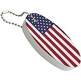 アメリカ合衆国アメリカアメリカの旗浮遊泡キーホルダー釣りボートブイキーフロート