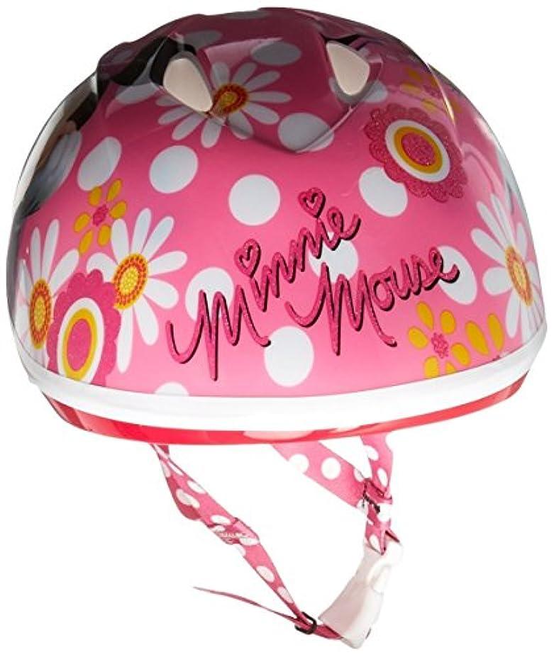 仕える受動的相対性理論Bell Minnie Mouse Pretty in Polka Dots Toddler Helmet [並行輸入品]