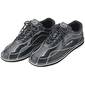 (ABS) ボウリングシューズ S-570 ブラック・ブラック 22cm 左右兼用 【ボウリング用品 靴】