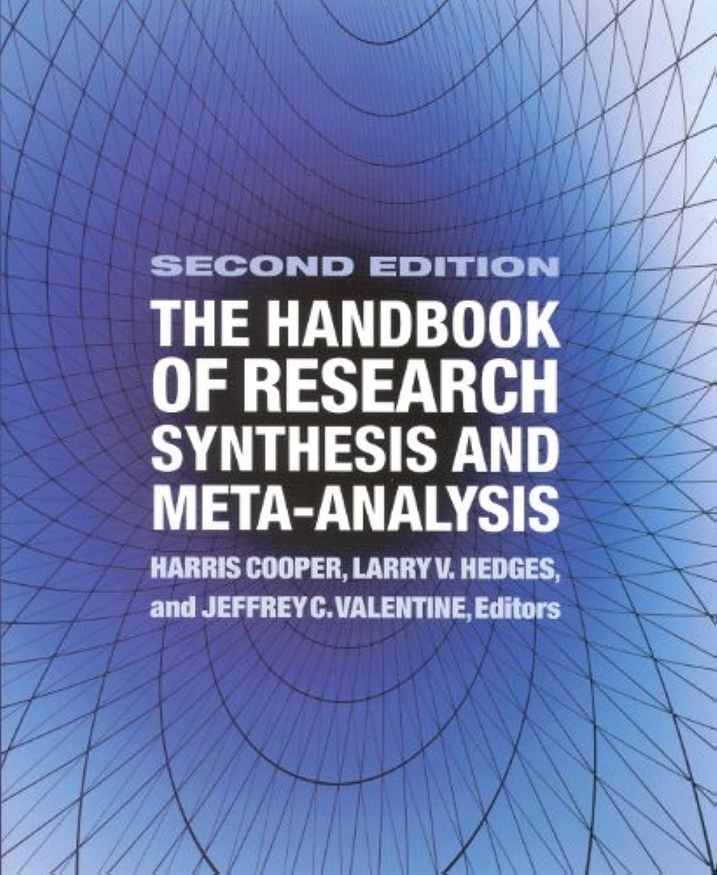 昆虫より平らなおそらくThe Handbook of Research Synthesis and Meta-Analysis (English Edition)