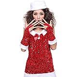 クリスマス サンタ 衣装 コスプレ サンタコスチューム レディース Mサイズ JR9536