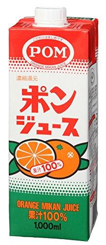 POM ポンジュース 1L ×6本