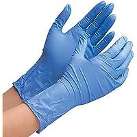 ミドリ安全 ニトリル手袋 ベルテ700R 厚手タイプ 粉なし ブルー (100枚)