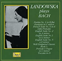 Landowska Plays Bach