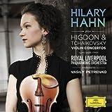チャイコフスキー&ヒグドン:ヴァイオリン協奏曲 画像