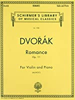 Romance, Op. 11: Violin and Piano