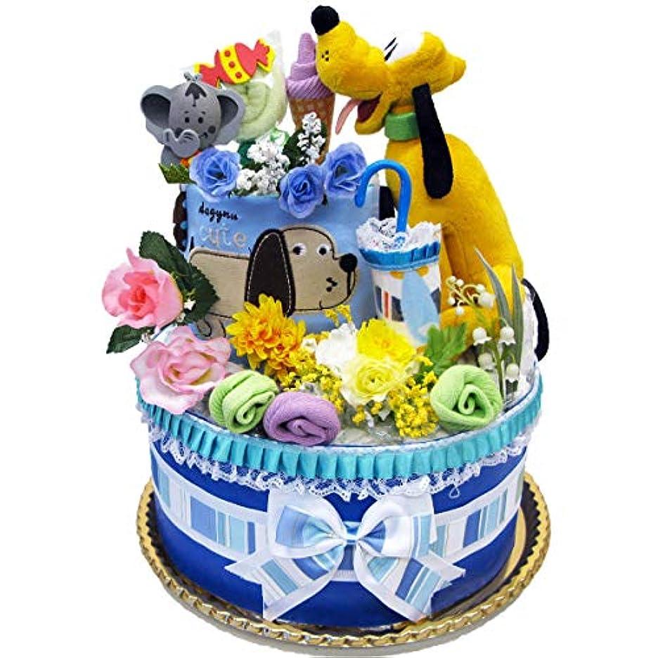 作物手つかずの子羊おむつケーキ ディズニー プルート 出産祝い パンパース サイズS 40枚 男の子 女の子 ベビー 人気 カーターズ disney baby DK1082-S