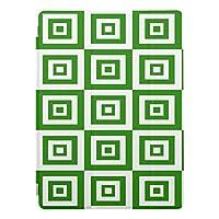 抽象的な幾何学模様 - 緑と白iPad Pro 9.7インチ スマートカバー スリープ機能付け iPad Pro9.7 Smart Cover スマート ケース Case レザーケース iPadPro9.7 カバー iPad Pro アクセサリー IPAD用