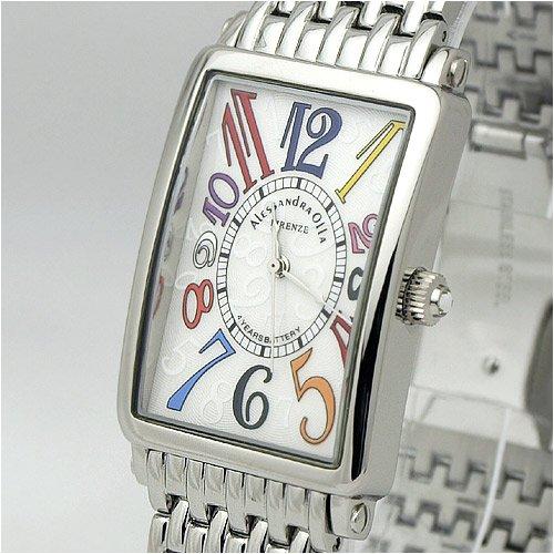 [アレサンドラオーラ]Alessandra Olla 腕時計 カーブガラス AO-1990-3 メンズ