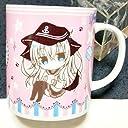 艦隊これくしょん 響 電 マグカップ MILK BAR 駆逐艦娘 艦これ 美少女 食器 グッズ