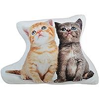 OiseauVoler かわいい 猫模様 抱き枕 ふわふわ ネコ クッション おもちゃ ぬいぐるみ 子供プレゼント 誕生日祝い