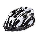 自転車用 ヘルメット サイクリング ロード マウンテン バイク バイザー サイズ調整可 アジャスター MINO Creates カラビナセット (ホワイト)