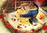 テンヨー 500ピース ジグソーパズル 美女と野獣 真実の愛の物語 (35x49cm) ブラウン