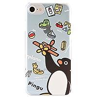 グルマンディーズ ピングー iPhone8/7/6s/6(4.7インチ)対応ハードケース ブルー pg-53b