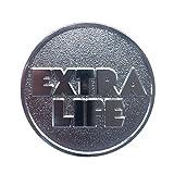 レディ・プレイヤー・ワンコイン、エクストラ・ライフ コイン ? Ready Player One Extra Life Coin Token - Silver