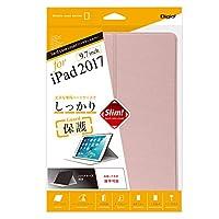iPad 9.7inch 2017 用 ハードケースカバー ピンク 47855