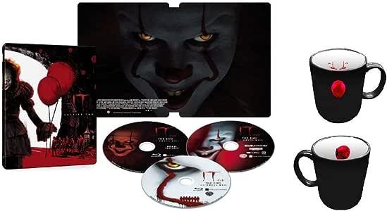 """【Amazon.co.jp限定】IT/イット THE END """"それ""""が見えたら、終わり。 スチールブック仕様 4K ULTRA HD&ブルーレイセット (限定生産/3枚組/ボーナス・ディスク付)(オリジナルマグカップ付) [Blu-ray]"""