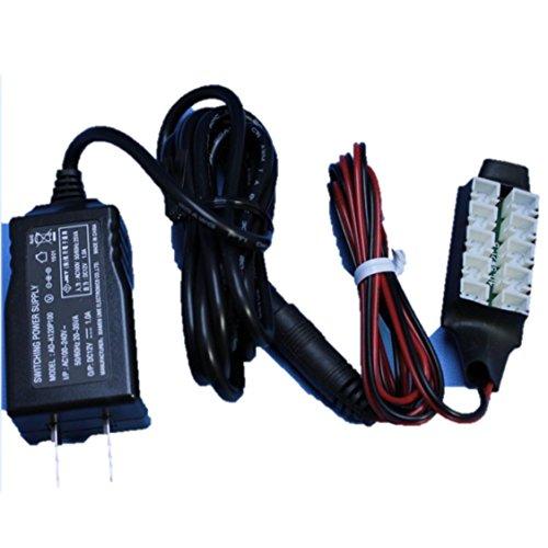 模型LED照明キット 基本セット 白色LED10本 ACアダプター付