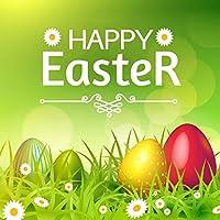 イースター写真バックドロップGrass Springパーティの背景カラフルな卵Sunshineバタフライ写真ブース小道具 10x10ft TY1919-J02913-T