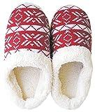 ダイカイ スリッパ ボア レディース 秋冬 ルームシューズ 幾何学 RD M(22~24cm)外寸,27cm Knit slippers(ニットスリッパ) 73197