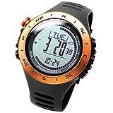 [LAD WEATHER]腕時計 スイス製センサー ストームアラーム 高度/気圧/温度/天気 アウトドア デジタルコンパス 登山 スポーツ時計