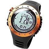 [ラドウェザー]トレッキング腕時計 高度計 気圧計 気温計 天気予測 デジタルコンパス アウトドアウォッチ スポーツ時計