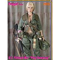 1/6 女性兵士 素体ヘッド 服 セット 軍事ファン 武器付き U.S コスプレ アクションフィギュア 25点アクセサリー ヘルメット