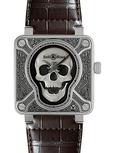 [ベル&ロス] BELL & ROSS 腕時計 BR01 バーニングスカル BR0192-SKULL-BURN 自動巻き メンズ 新品 [並行輸入品]
