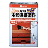 カンペハピオ 油性木部保護塗料 チーク  14L