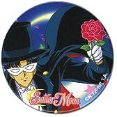 """セーラームーン タキシード仮面 2インチ 缶バッチ Sailor Moon Tuxedo Kamen 2"""" Button K"""