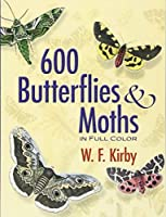 600 Butterflies and Moths in Full Color (Dover Pictorial Archive) by W. F. Kirby(2007-11-16)