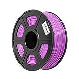 フィラ Tritina 3DプリンターフィラメントPLA Noctilucent 3.00 mm、精度± 0.02 mm、1kgスプール重量、グローインダーク(紫)