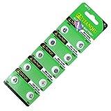 LR621 ボタン電池 10個セット アルカリ 電池 AG1 CX60 364A 互換品 バッテリー