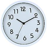 ビンウォー(BINWO) 壁 掛け時計 Wall Clock 10インチ (ホワイト)