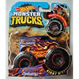 Hot Wheels 2018 Release Monster JAM Blue DELIVERY Truck DIE CAST with Collectible Wheel Token