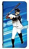 スマホケース 手帳型 [Galaxy Note 9 SC-01L] ケース 手帳 かっこいい 野球 北海道日本ハムファイターズ 選手 0819-D. 大田 泰示 scv40/sc01l カバー sc01l ケース ギャラクシーノート9 sc-01l ケース 人気 おしゃれ Samsung サムスン スマホゴ