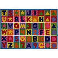 楽しいラグ楽しい時間コレクションホーム子供部屋装飾床エリアラグNumbers & Letters - 22