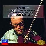 バッハ:無伴奏ヴァイオリンのためのパルティータ第1番&第2番&第3番 画像