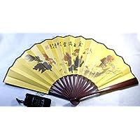 中国風飾り扇子 漢詩書画 中国雑貨 インテリア工芸品 癒しグッズ ギフト 中国お土産