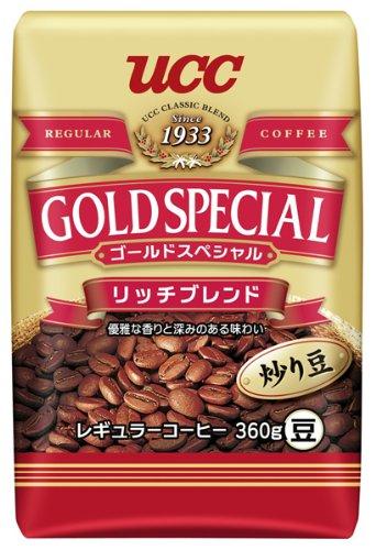 ゴールドスペシャル リッチブレンド 炒り豆 360g