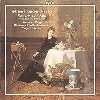 アドリエン・フランソワ・セルヴェ:チェロと管弦楽のための作品集