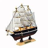CA Mode JP 手作り 木製帆船模型 装飾品 収蔵品 おもちゃ 30cm